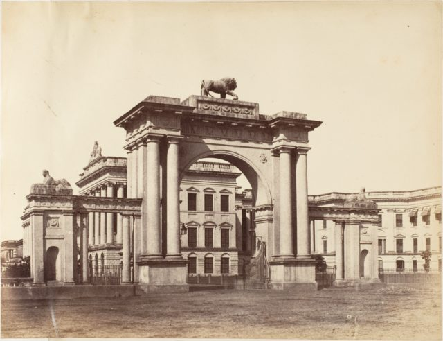 Gateway to Government House, Calcutta