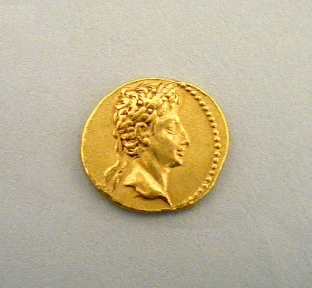Gold aureus of Augustus