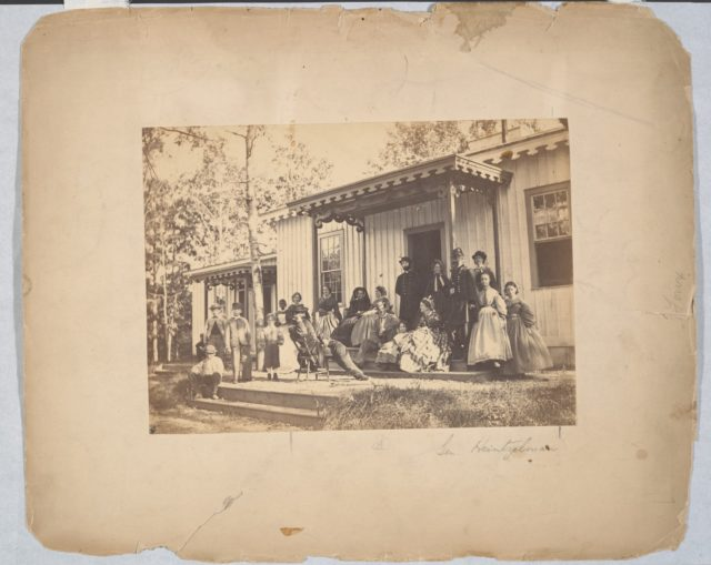 Group on Porch