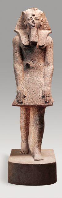 Hatshepsut in a Devotional Attitude