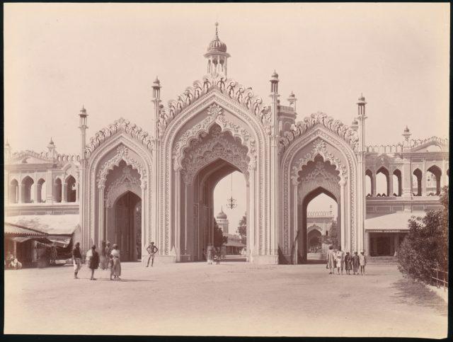 [Husainabad Bazar Gateway, Lucknow, India]