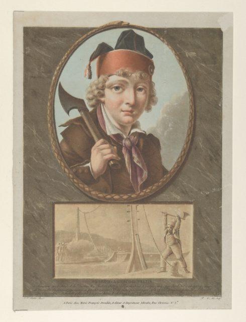 Joseph-Agricol Viala, after I. F. Sablet