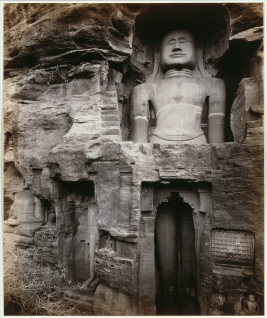 Large Shrine Figure in the Happy Valley, Gwalior, India