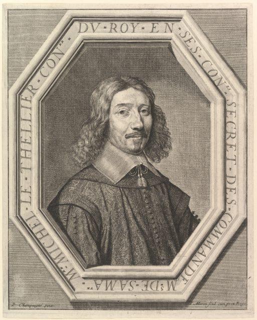 Michel Le Tellier conseiller du roi