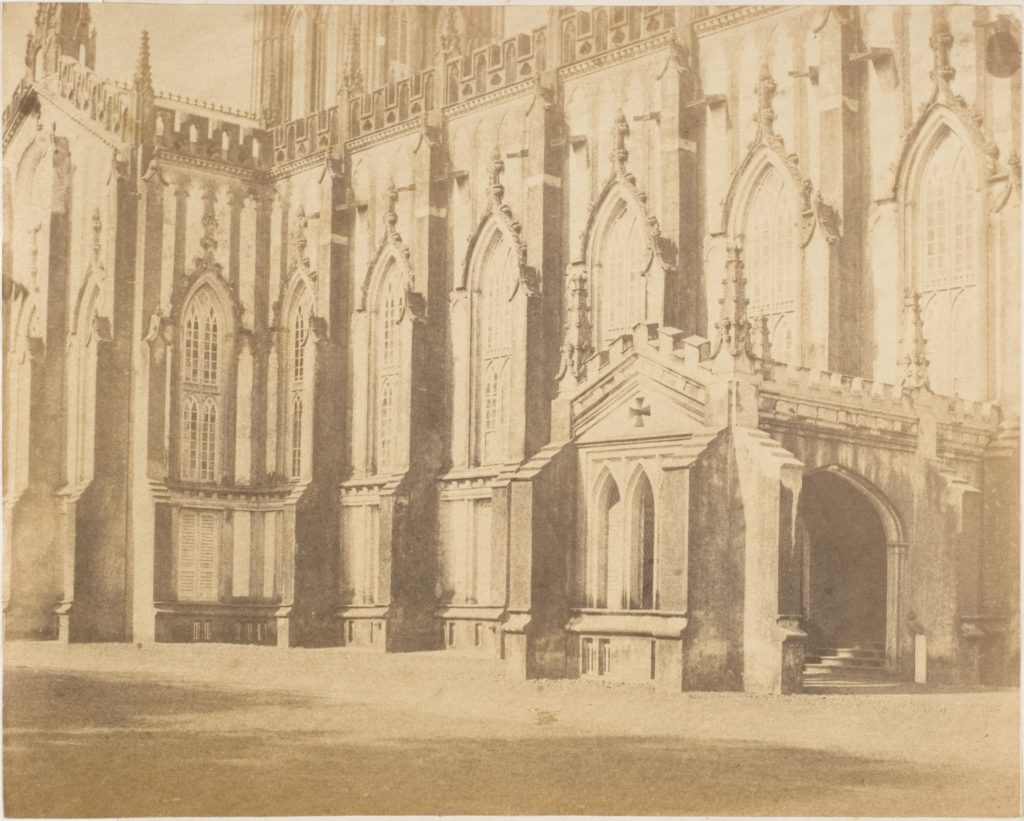 [Part of the Exterior of the St. Paul's Cathedral, Calcutta]