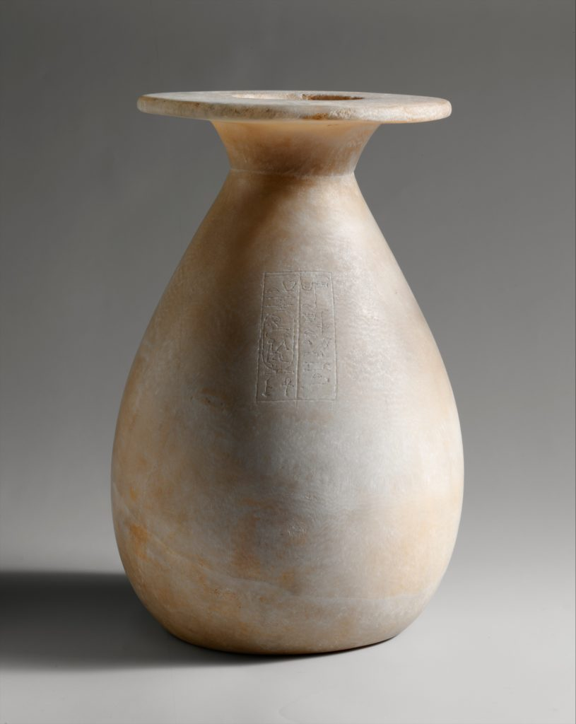 Piriform Jar Inscribed with Hatshepsut's Titles as Queen