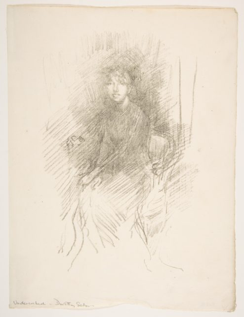 Portrait of a Young Woman (Miss Seaton) (Dorothy Seaton)