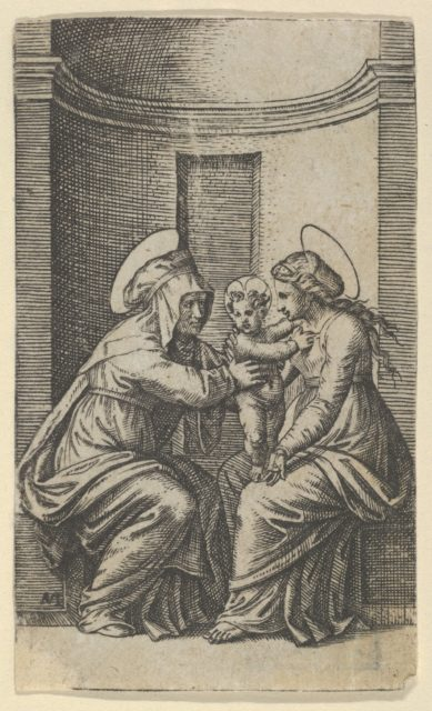 Saint Anne and the Virgin with the Infant Christ
