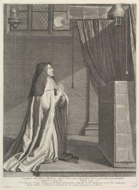 Sainte Julienne de Mont-Cornillon