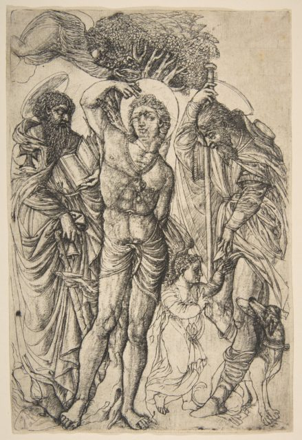Saints Sebastian, Anthony and Roch