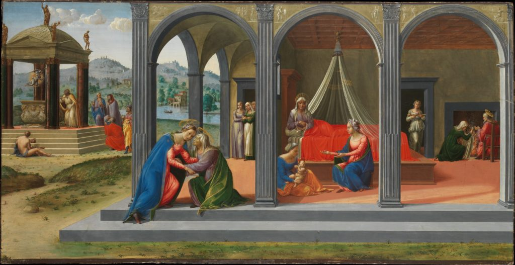 Scenes from the Life of Saint John the Baptist