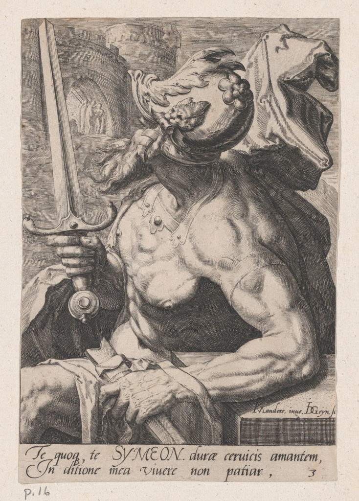 Simeon, from The Twelve Sons of Jacob
