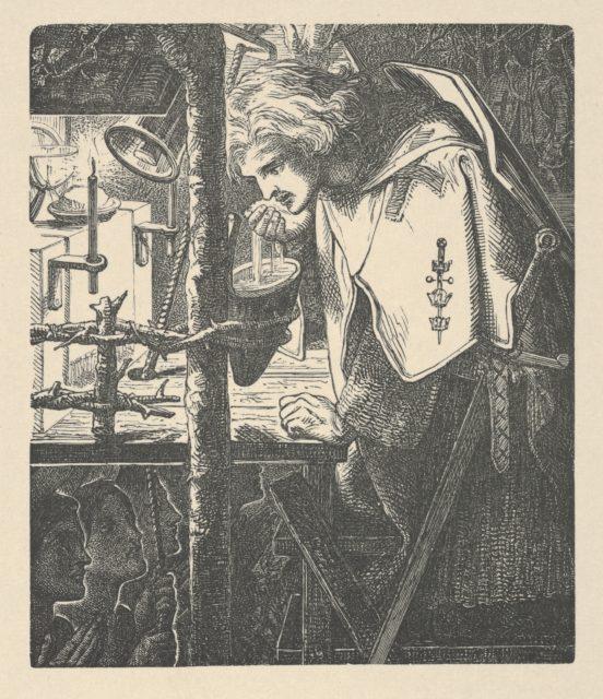 Sir Galahad (from Tennyson's Poems, New York, 1903)