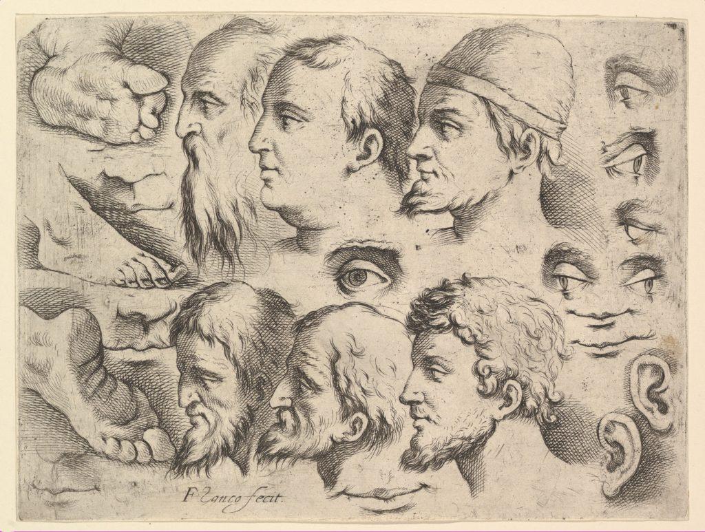 Six Heads, Three Feet, Two Ears, Six Eyes, Four Lips