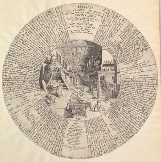 The Alchemist's Laboratory from Heinrich Khunrath, Amphiteatrum sapientiae aeternae