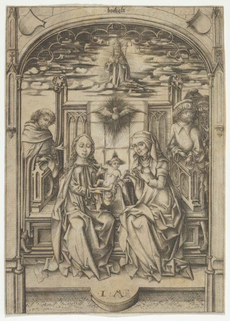 The Holy Family with St. Anne