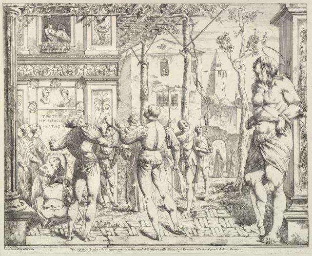 "The Martyrdom of Saint Christopher, ""Secondo Quadro"""