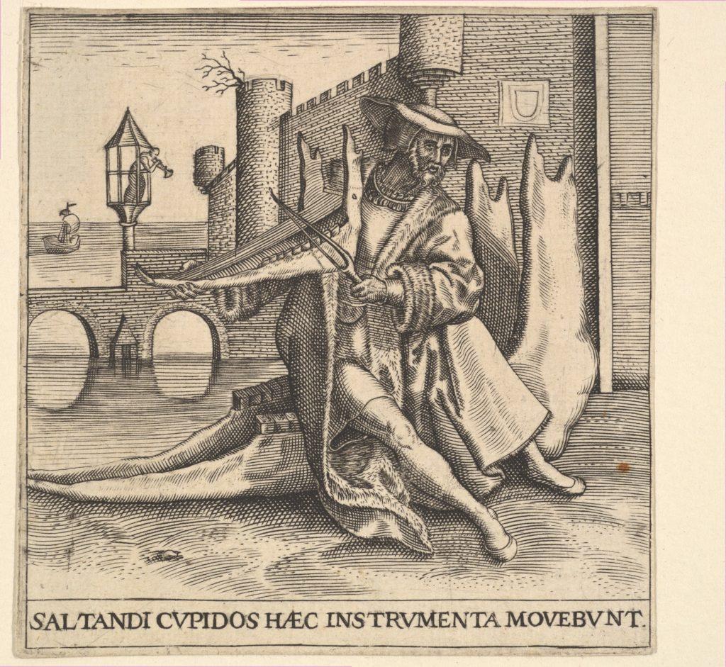 The Rich Man Playing Violin on a Jaw Bone