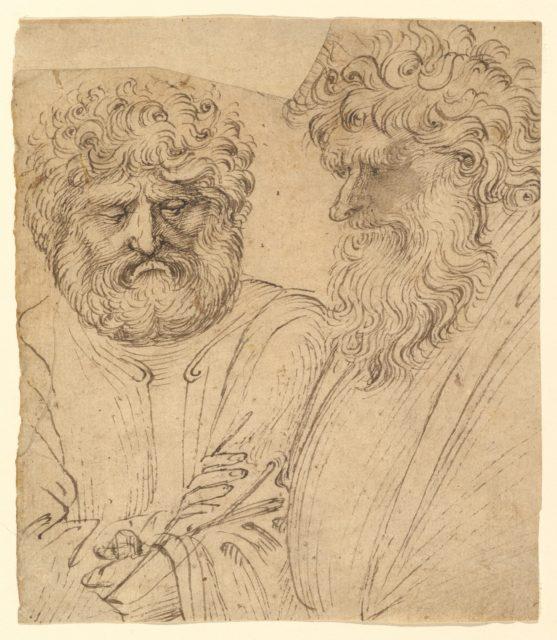 Two Heavily Bearded Men