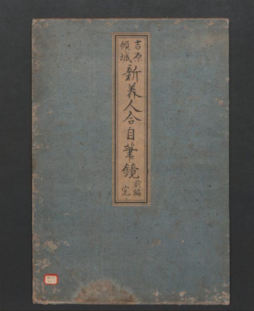 Yoshiwara Courtesans: A New Mirror Comparing the Calligraphy of Beauties (Yoshiwara keisei: Shin bijin awase jihitsu kagami)