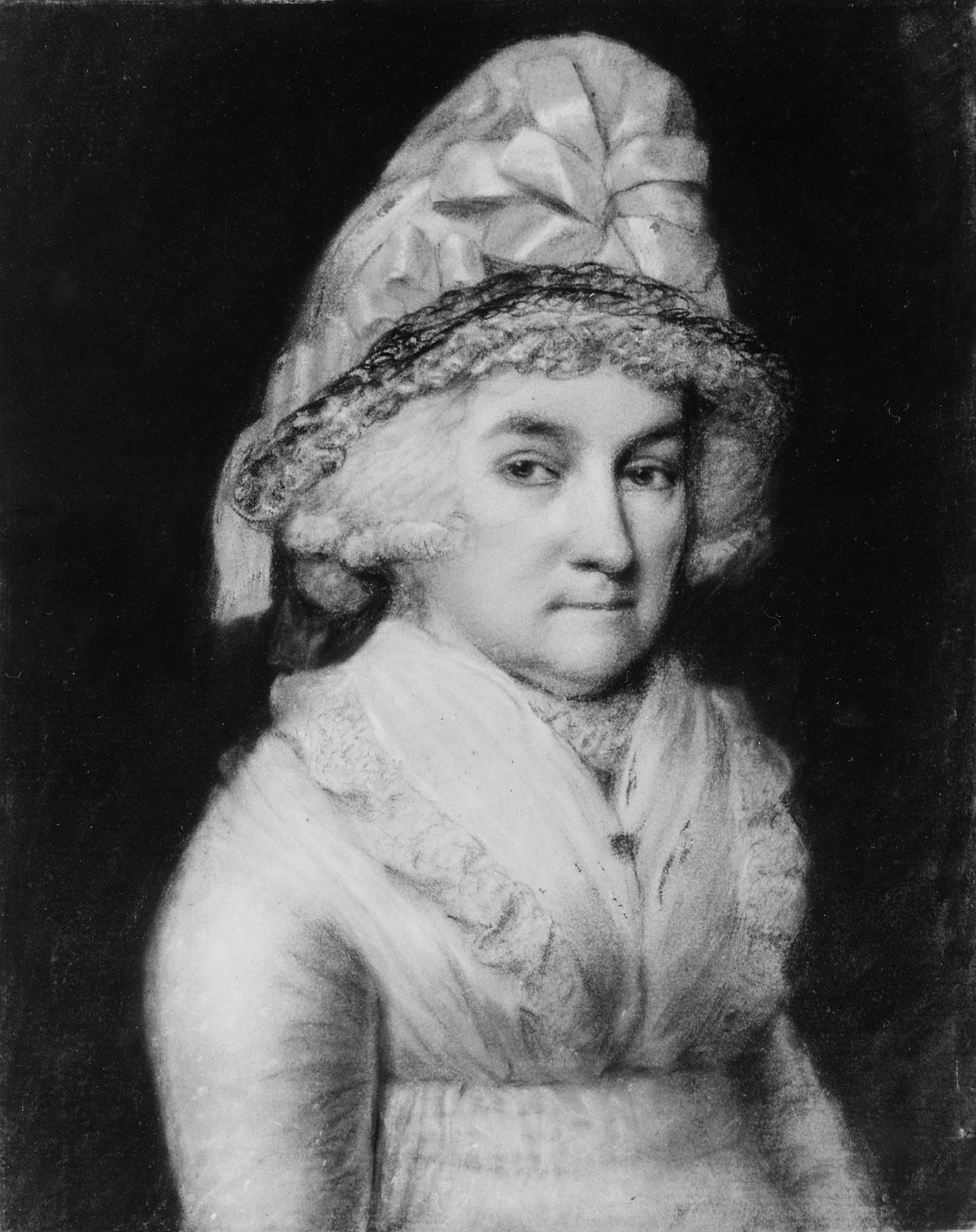 abigail smith adams is known as a Abigail smith adams was not a member of congress she did not participate in a convention she did not sign any historic documents she was the wife of our second president john adams, and mother of our sixth president john quincy adams.