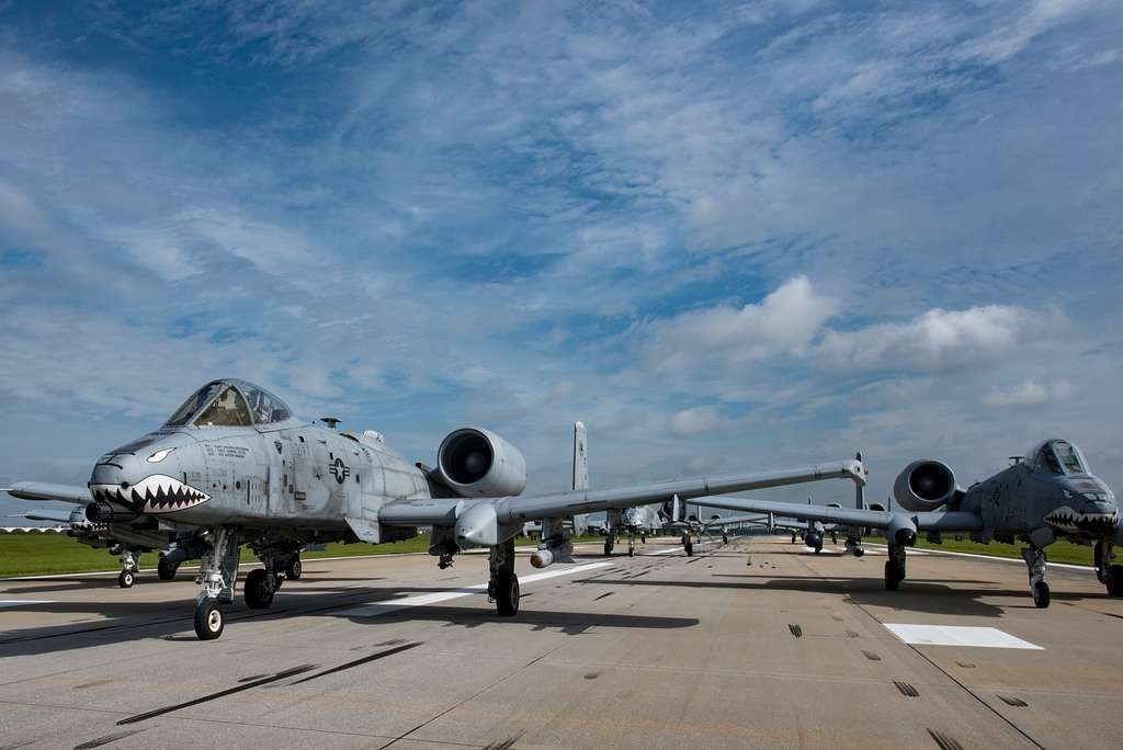 Aircraft from the 23d Wing conducted a surge exercise