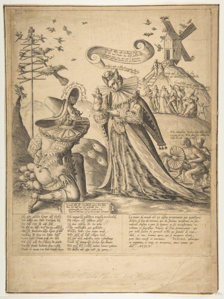 Allegory on Vanity