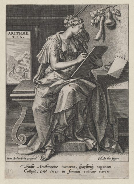 Arithmetica, from The Seven Liberal Arts