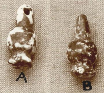 Beads, cornflower shape