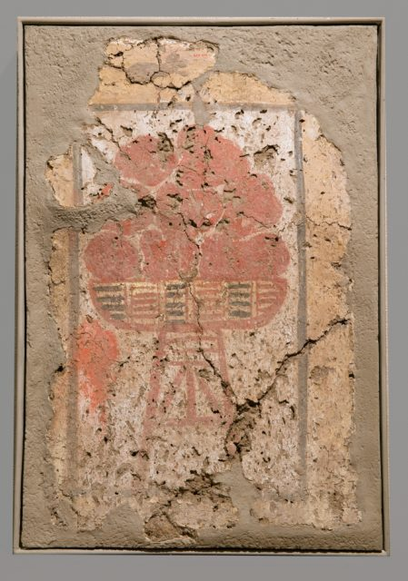 Bench End-Panel from a shelf support in the Palace of Amenhotep III-Fruit Stand