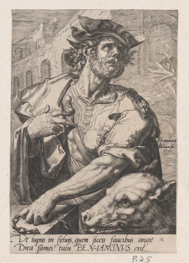 Benjamin, from The Twelve Sons of Jacob