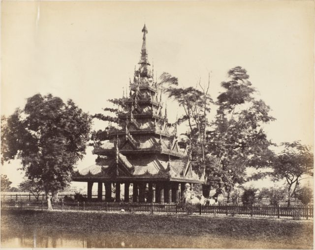 [Burmese Pagoda in the Eden Gardens, Calcutta]