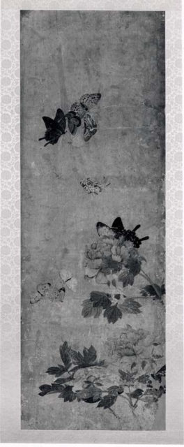 Butterflies and Peony