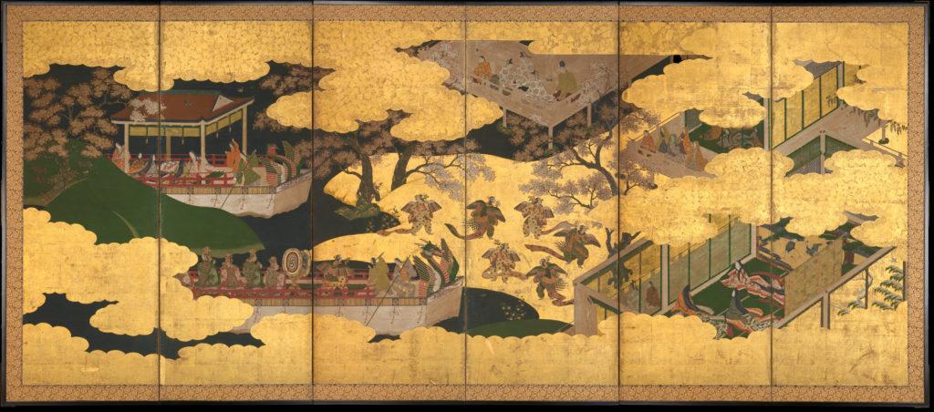 """Butterflies"" (""Kochō""), Chapter 24 from The Tale of Genji (Genji monogatari)"