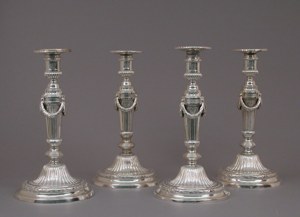 Candlestick (one of a set of eight)