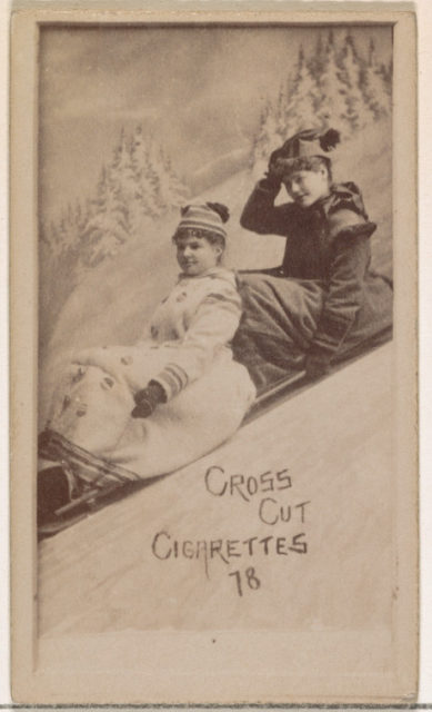Card Number 78, from the Actors and Actresses series (N145-1) issued by Duke Sons & Co. to promote Cross Cut Cigarettes
