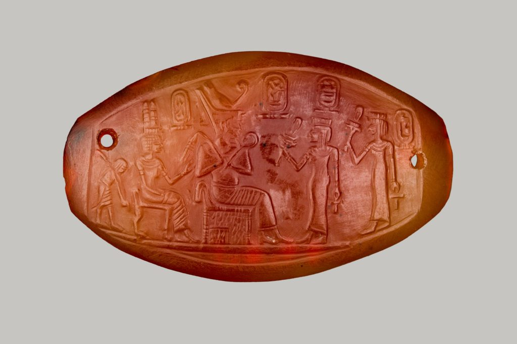 Carved Plaque of Amenhotep III