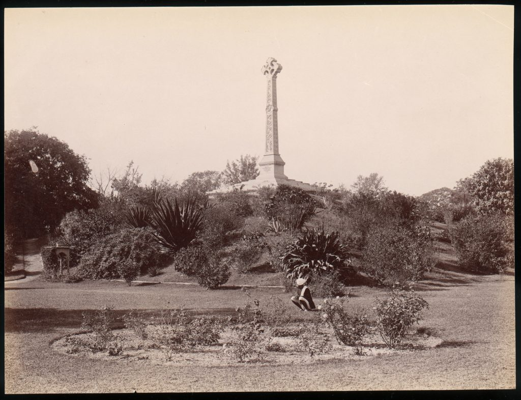 [Colonel Lawrence Monument, Lucknow, India]