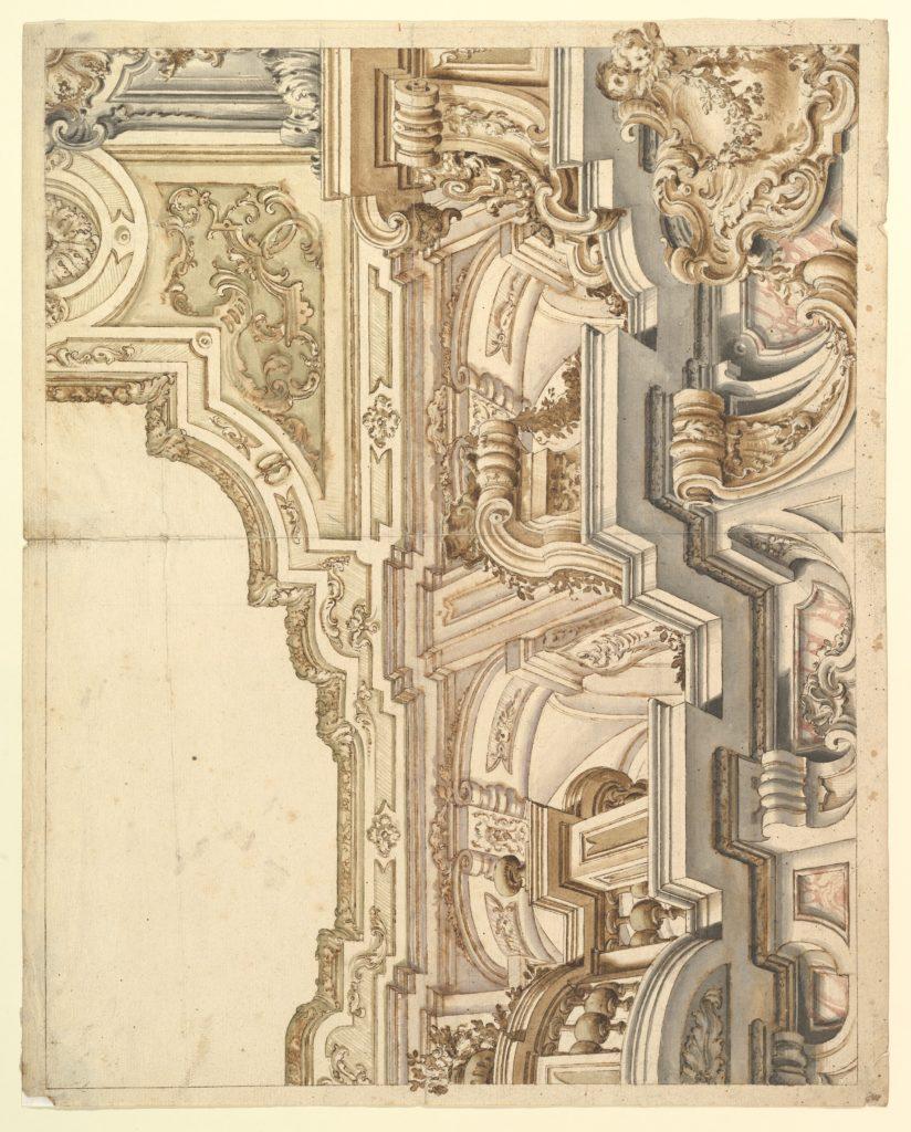 Design for a cornice.