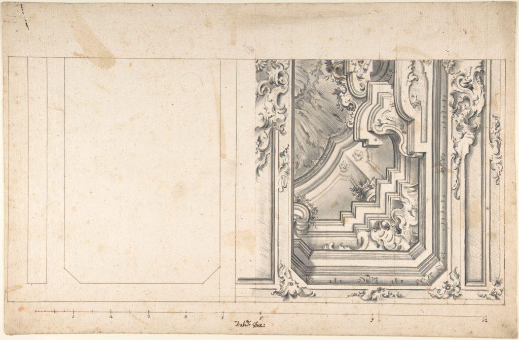 Design for One Quarter of a Ceiling