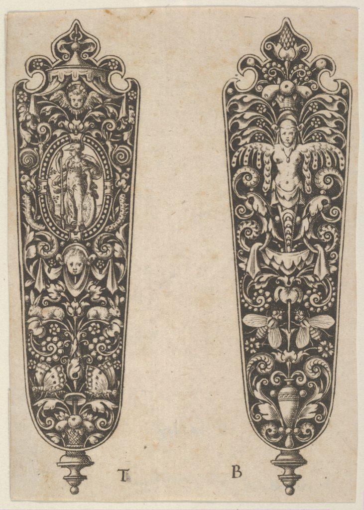 Design for Sword or Dagger Handles