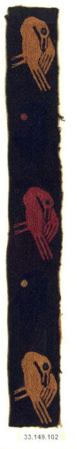 Embroidered Band Fragment