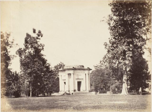 Entrance to Botanical Gardens, Calcutta