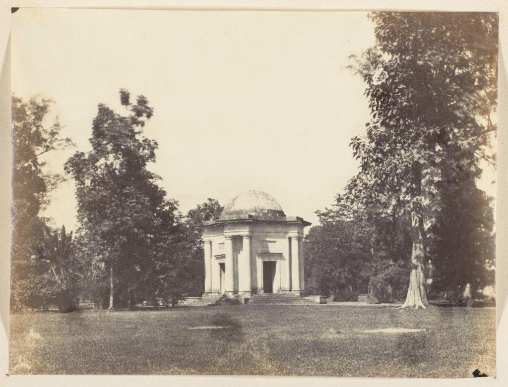 [Entrance to Botanical Gardens, Calcutta]