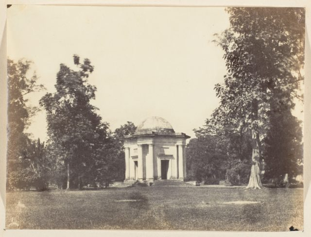 [Entrance to Botanical Gardens, Calcutta]