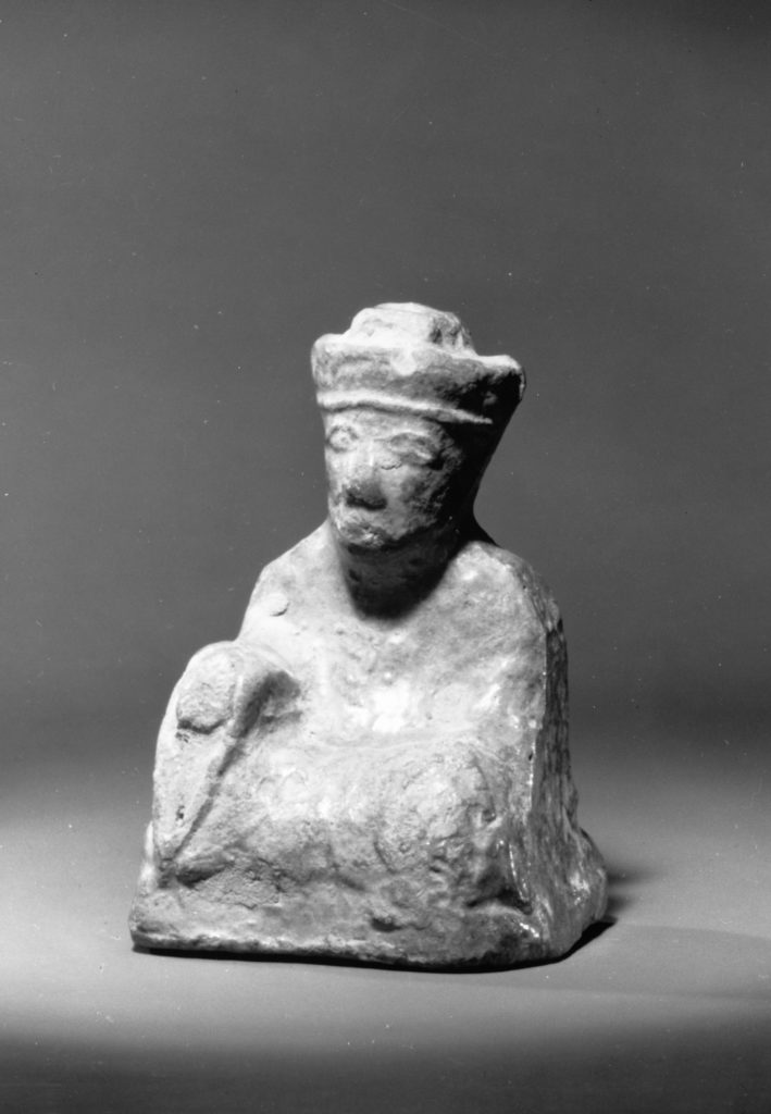 Figure of a Seated Man