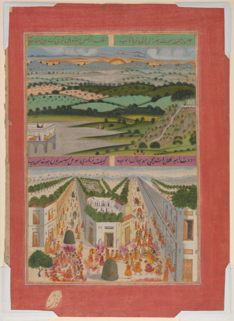 Folio from a manuscript of the Raga Darshan of Anup