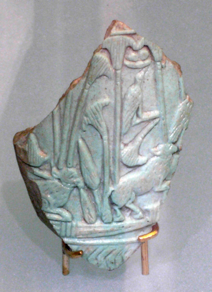 Fragment of an ovoid flask
