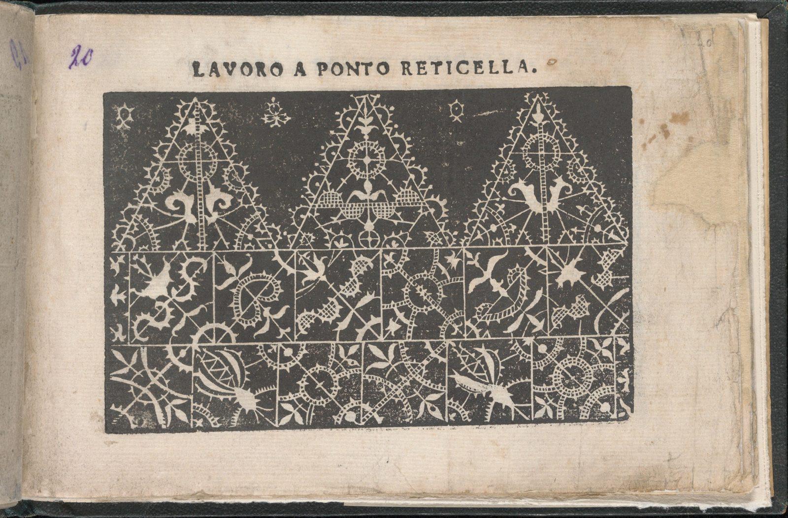 Gemma pretiosa della virtuose donne, page 20 (recto)