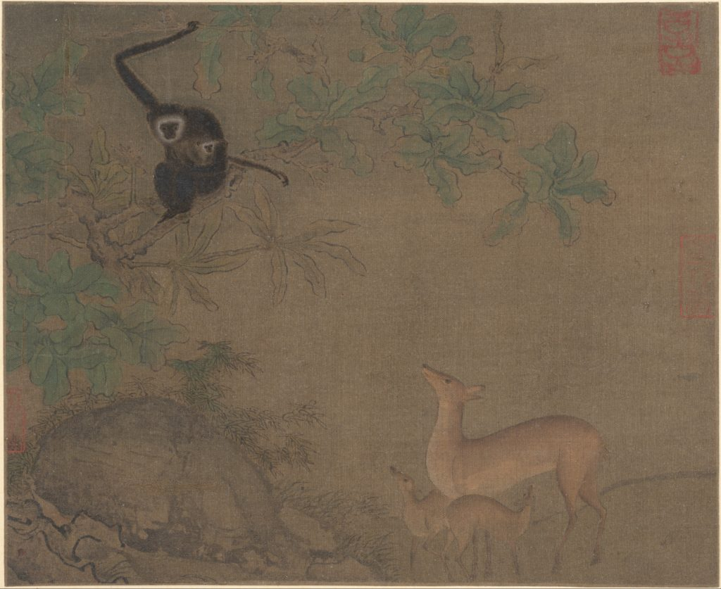 Gibbons and Deer